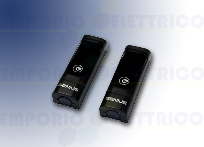 genius coppia di fotocellule vega wireless 12-24v 6100248