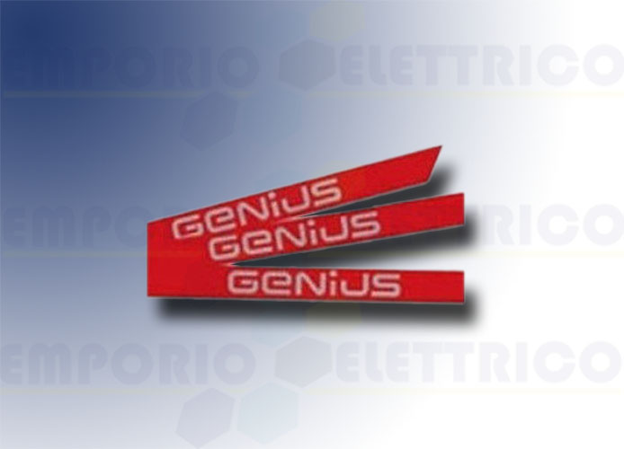genius kit adesivi logo genius asta simple 6100201